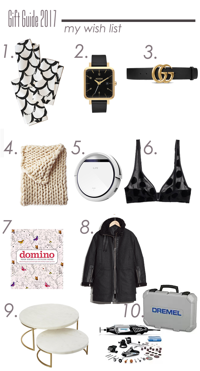 Undeclared Panache Wish List