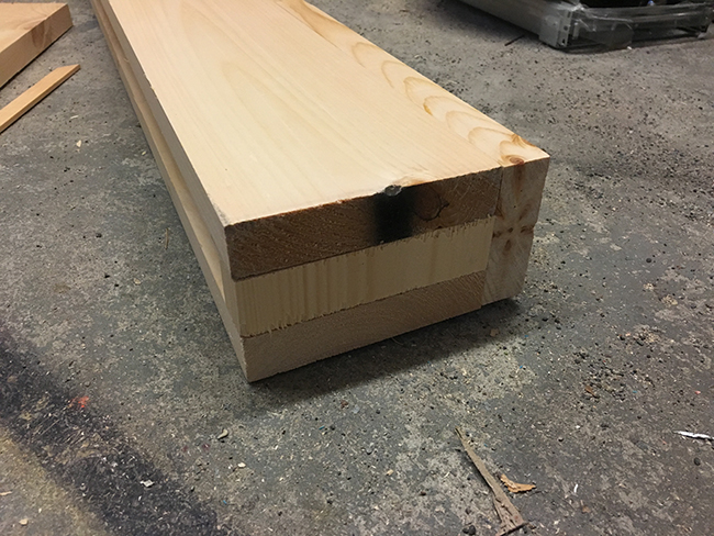 box mantel