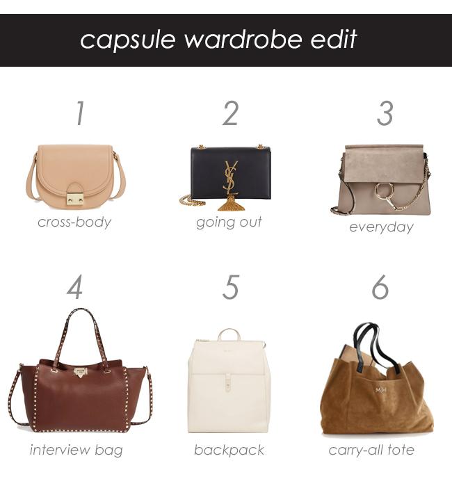Capsule Wardrobe: Bag