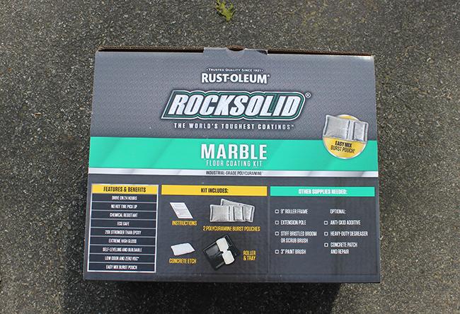 Rust-oleum Rocksolid Floor Coating Kit