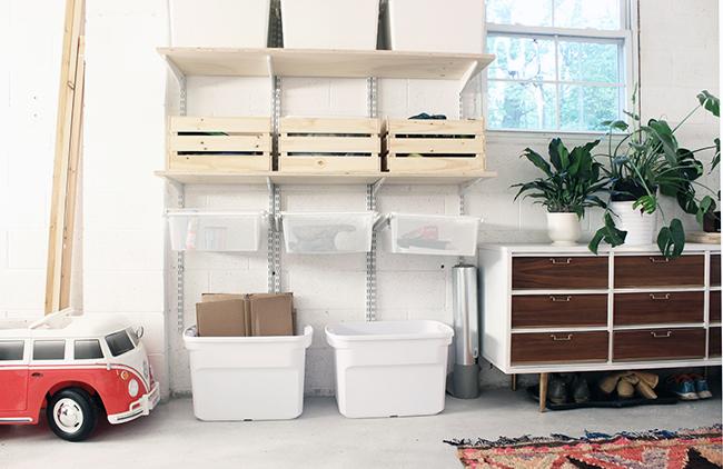 One Room Challenge Garage Storage
