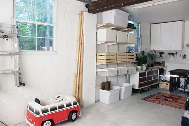 One Room Challenge Garage Makeover