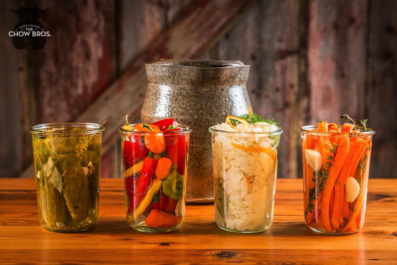 Pickles, Pickled Vegetables, Fermented Vegetables - Flavor Bombs
