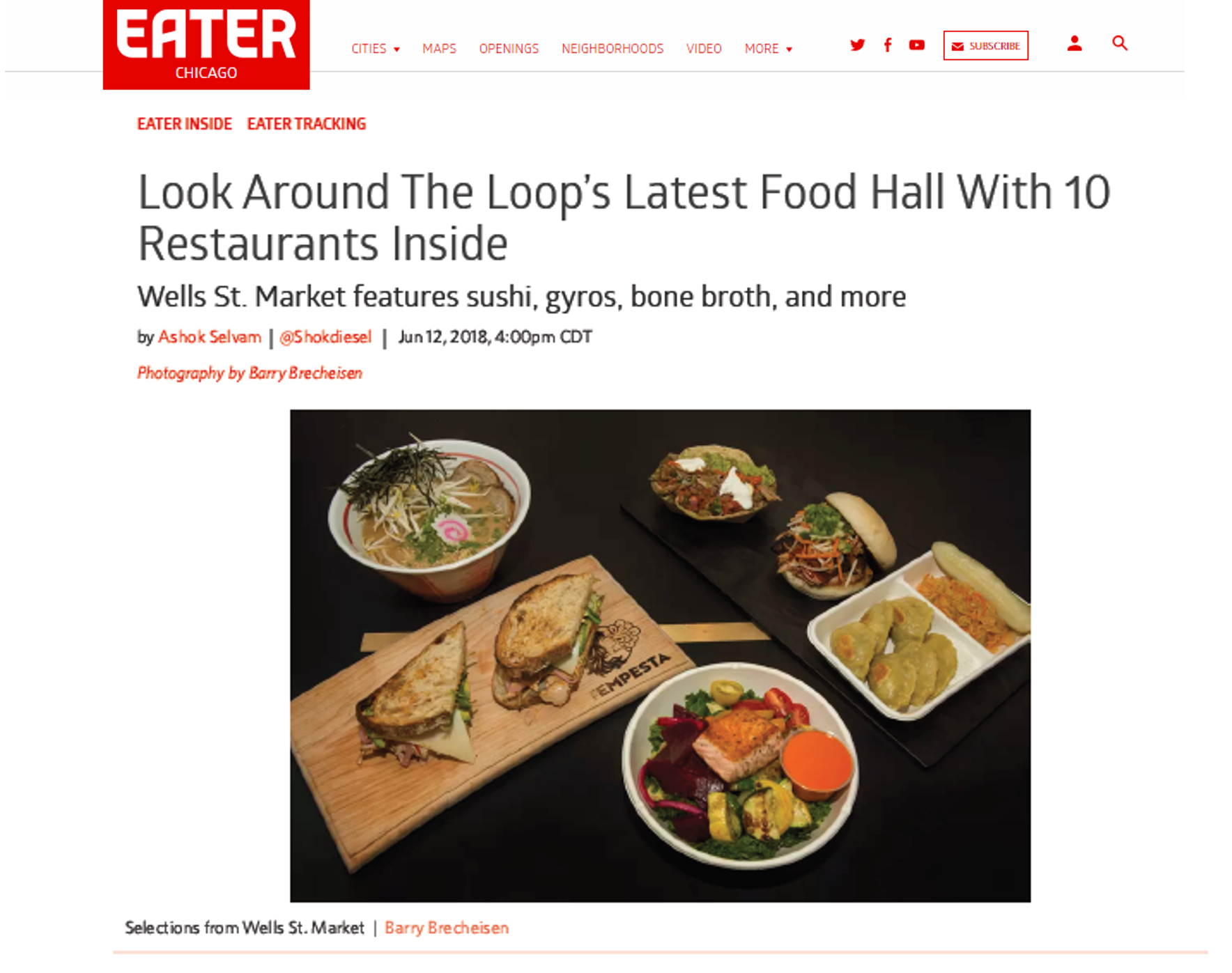 From Eater Chicago, June 12, 2018:  https://chicago.eater.com/2018/6/12/17454272/wells-st-market-food-hall-opening-dateloop-photos-images