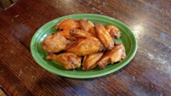 Saturday is pitcher of wings night:   Order a pitcher of beer or margaritas and get a free pitcher of wings. $1 for a giant side of bleu cheese or ranch.  For drinks:  10 a.m. - 4 p.m.   $3 Bloodies   $3 Screwdrivers   $4 Mimosas     9 p.m. - close    $3 tier 1 pints   $3 rail drinks    $4 tier 2 pints