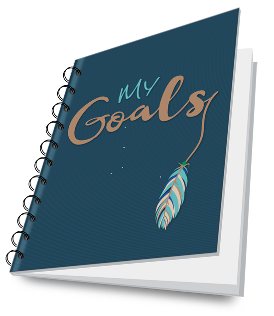 Order now and receive a Personal Goals Journal with daily inspirationsTrack your progress and celebrate your victories. -