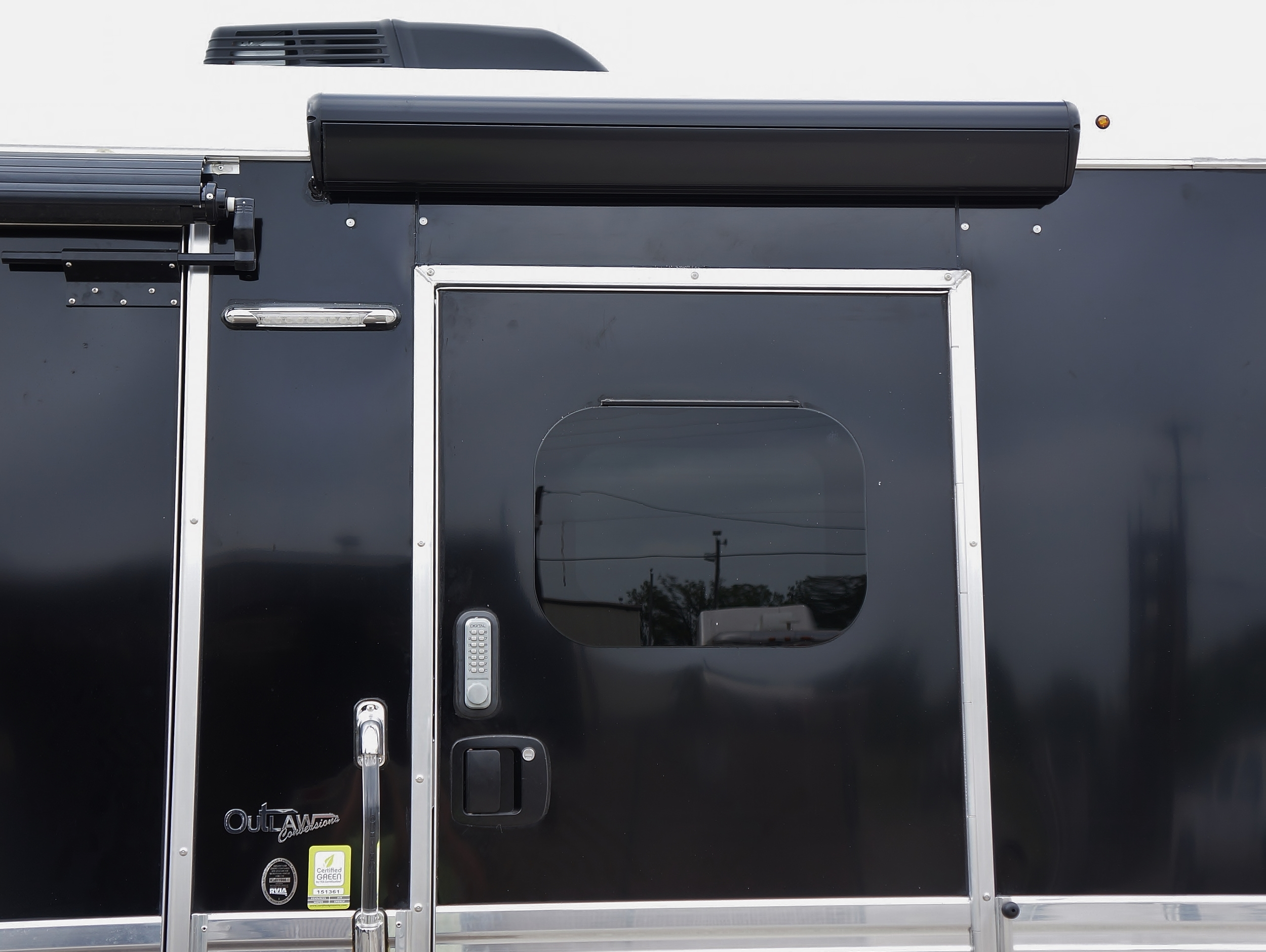 48 in. RV Door Awning