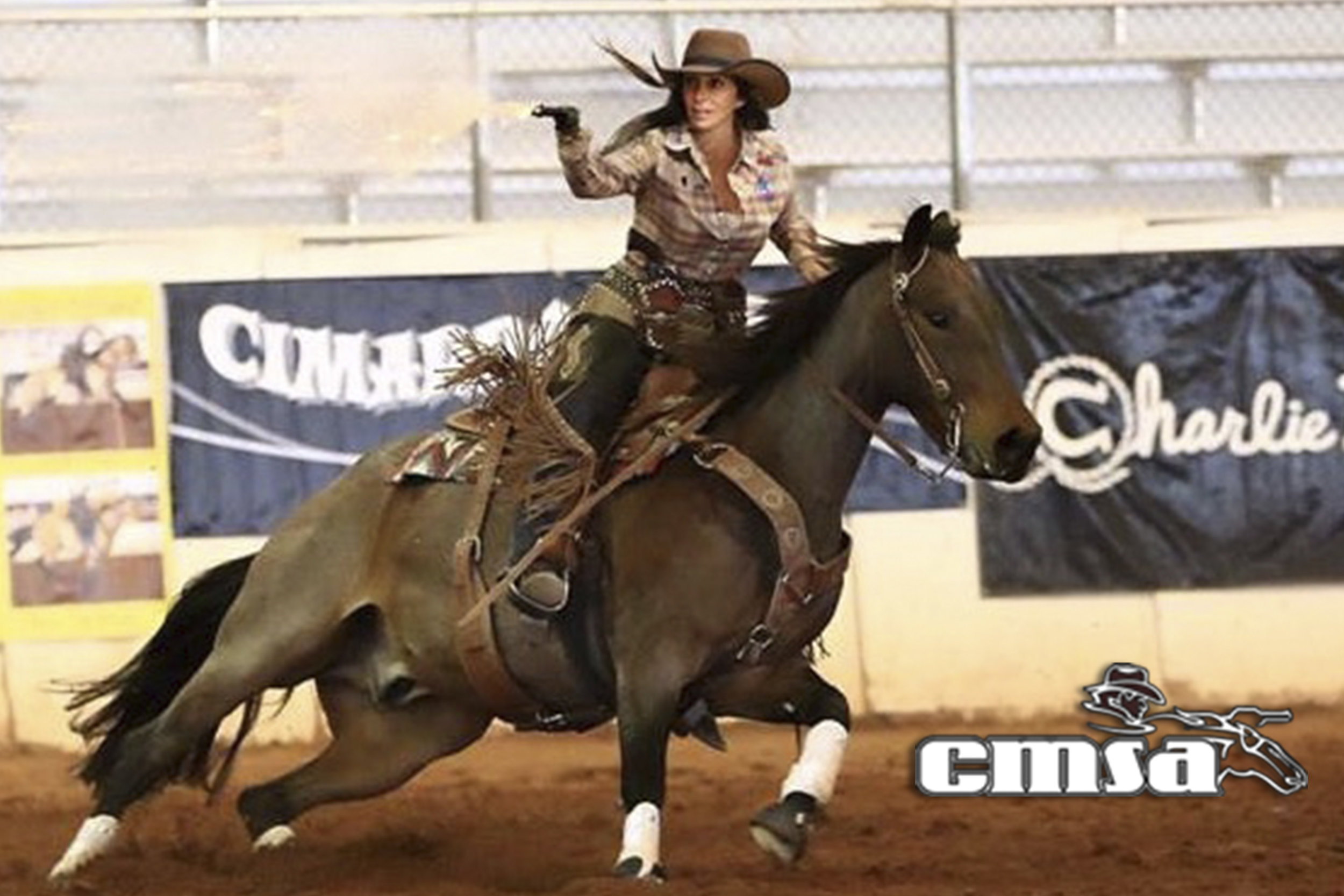 Annie Bianco-Ellett: World and National Champion, Winner of the 2015 Cowboy Capitol Double Down Finals, and Winner of the 2015 Outlaw Annie Shoot for the Troops Championship