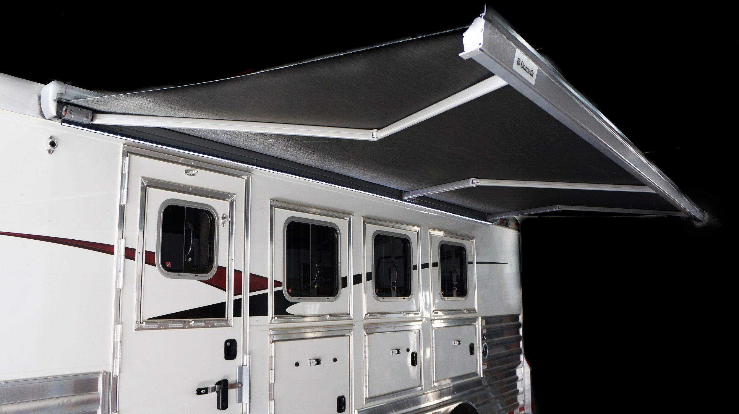 9500 Electric Awning with Motion Sensor Open
