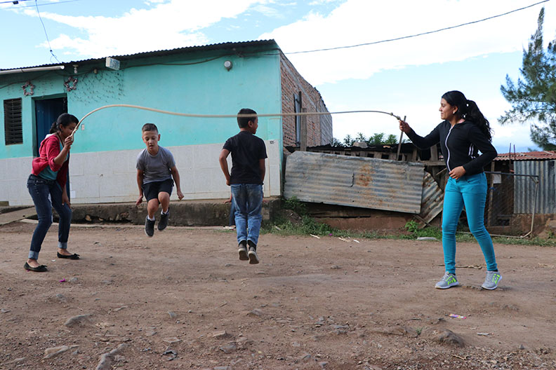 We are loving life and loving the Lord, praising His name in Honduras. -