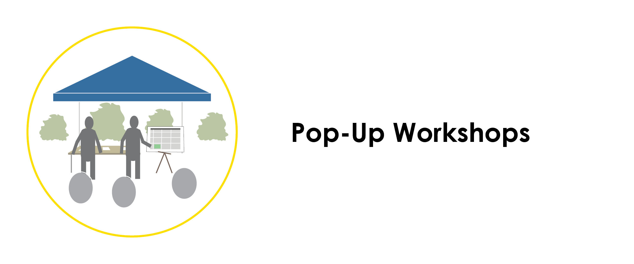Pop-Up Workshops. Click on image to learn more.