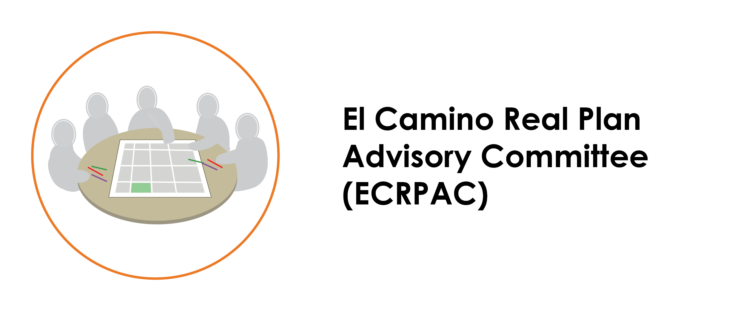 El Caminor Real Plan Advisory Committee (ECRPAC). Click on image to learn more.