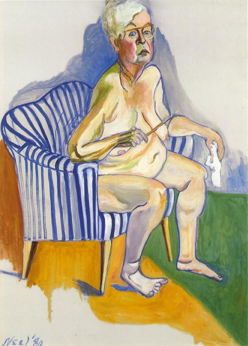 #aliceneel what a terrific painter.