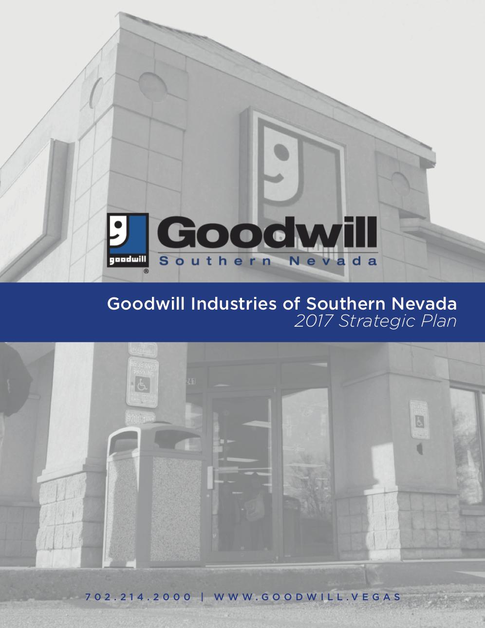 Goodwill Strategic Plan