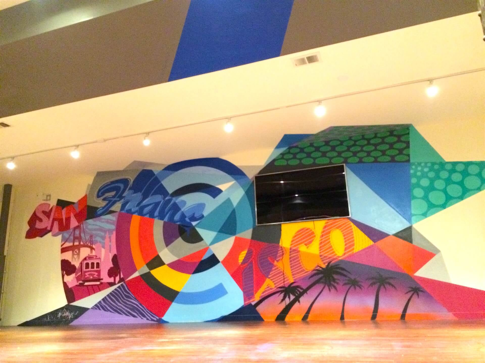 Commissioned Office Mural 2 for Chronicled | SOMA San Francisco USA, 2015