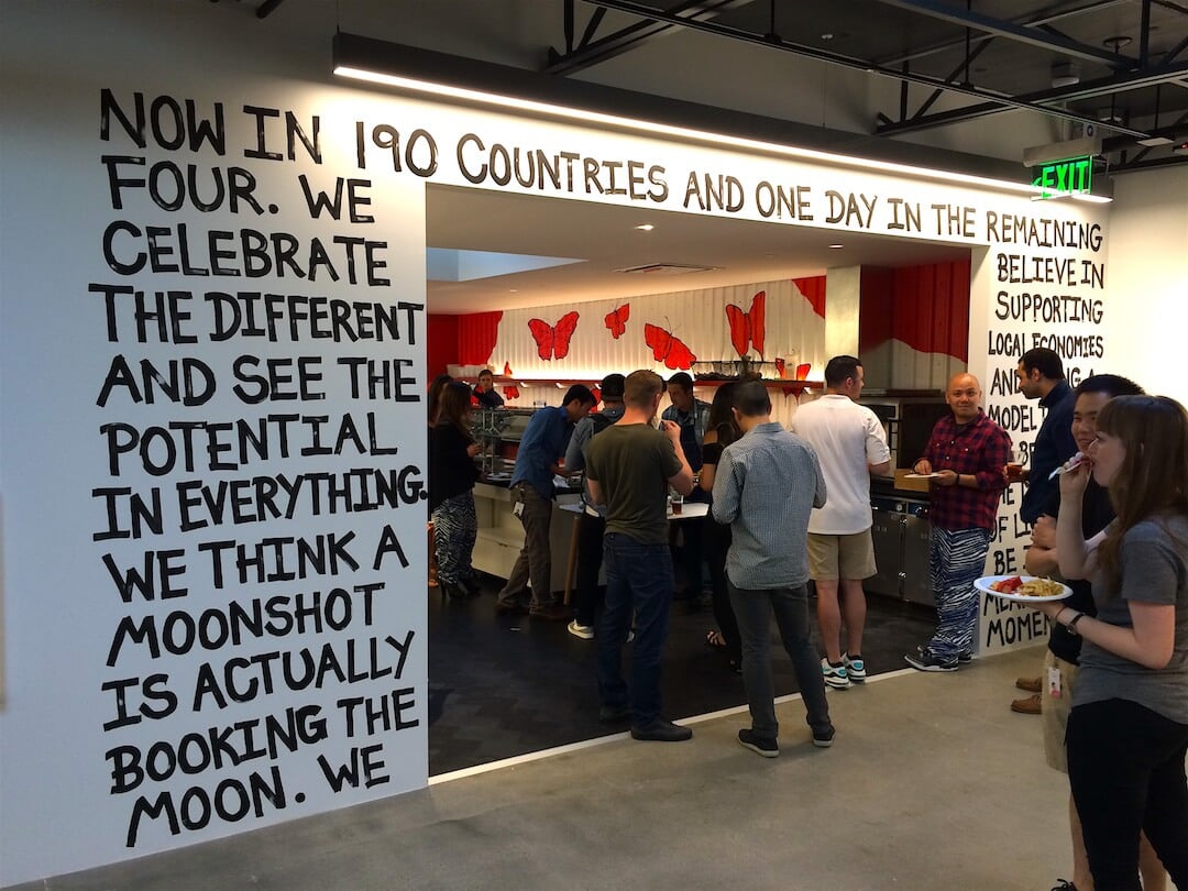 Commissioned Interior Mural for Airbnb | SOMA San Francisco USA, 2015