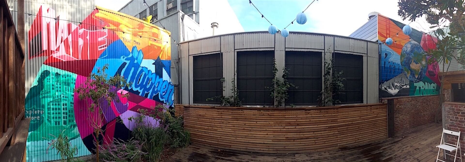 Commissioned Office Mural 4 for Bluesmart | SOMA San Francisco USA, 2015