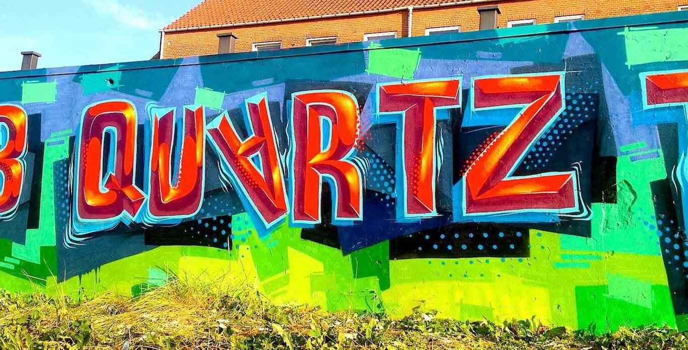 Bevel Graffiti Mural | Copenhagen Denmark, 2014