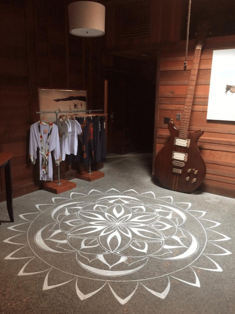 Commissioned Mandala Mural | Sausalito, 2015