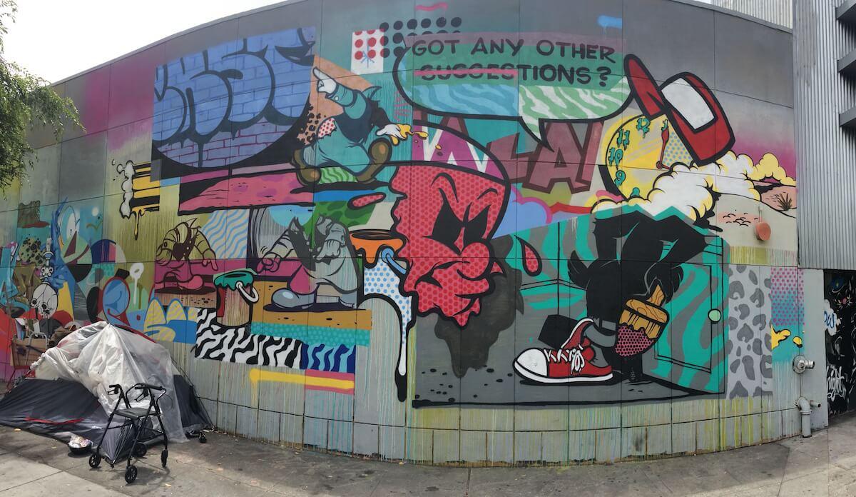 San Francisco Graffiti by Pose