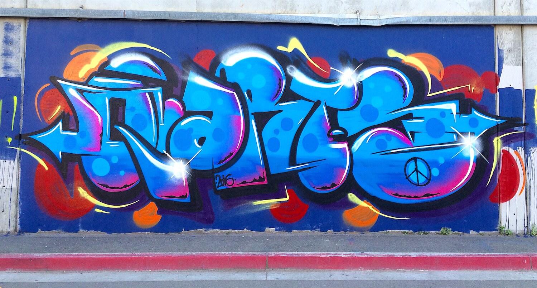 Astro Graffiti Mural | Oakland USA, 2016