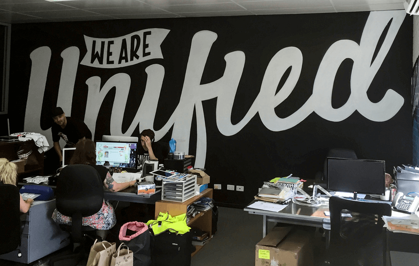 Commissioned Office Mural 5 | Los Angeles USA