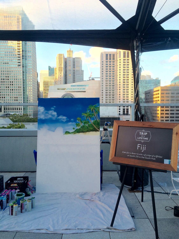Live Graffiti Art | San Francisco USA 2016