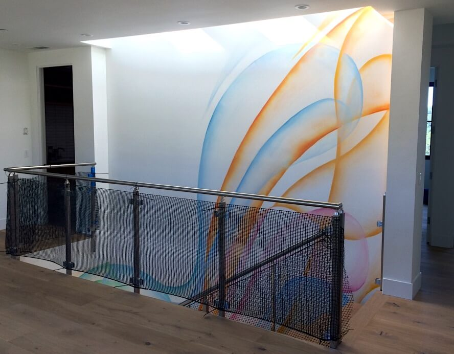 Commissioned Mural 3 for Private Residence | Silicon Valley USA, 2016