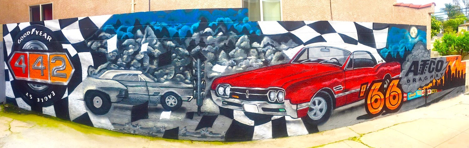 Commissioned Exterior Mural  | Los Angeles USA, 2017