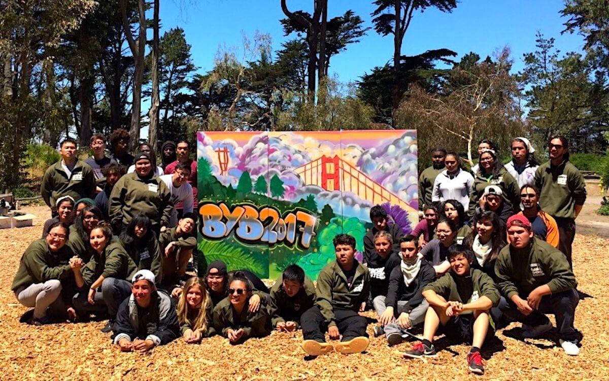 Live Graffiti Painting Workshop for Golden Gate National Parks Conservancy | San Francisco USA, 2017