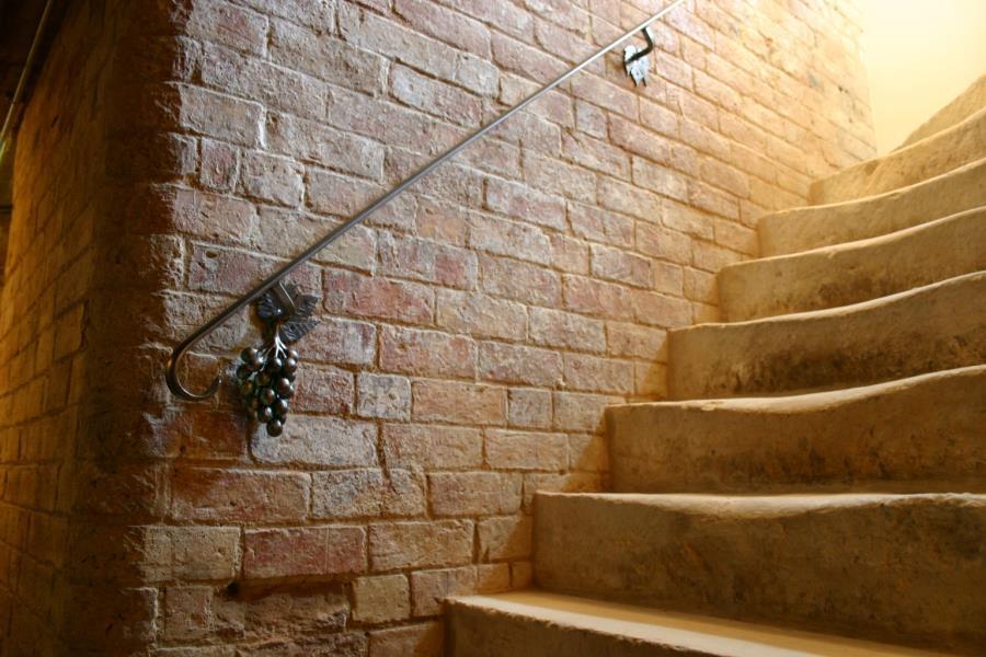 wine cellar railing