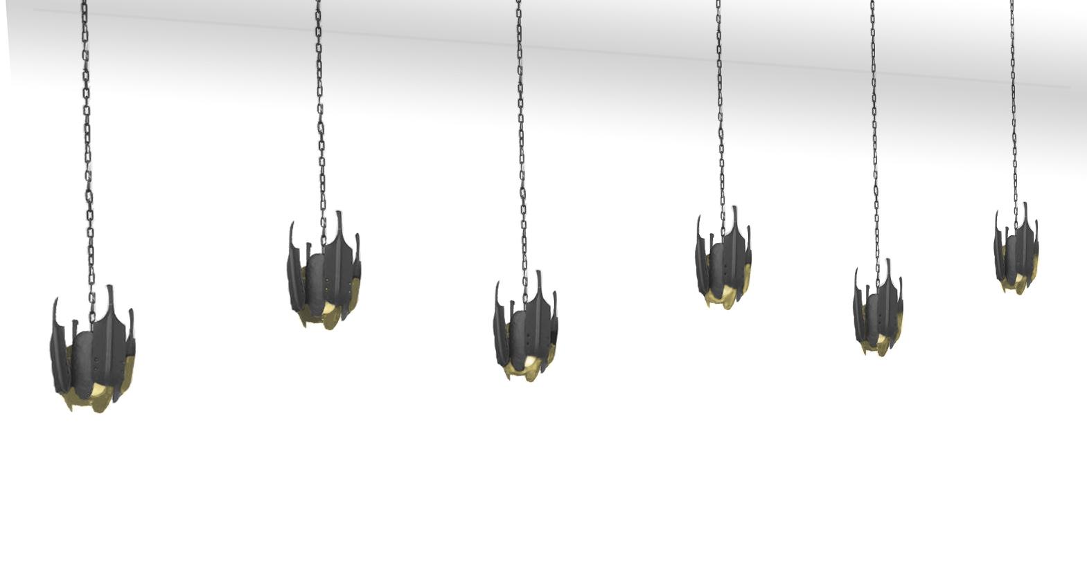 Ironwork - lighting - Asheville NC - Scott McCulloch