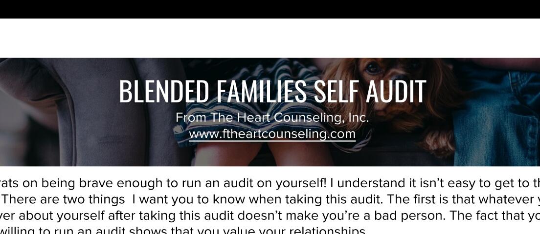blended families step parent
