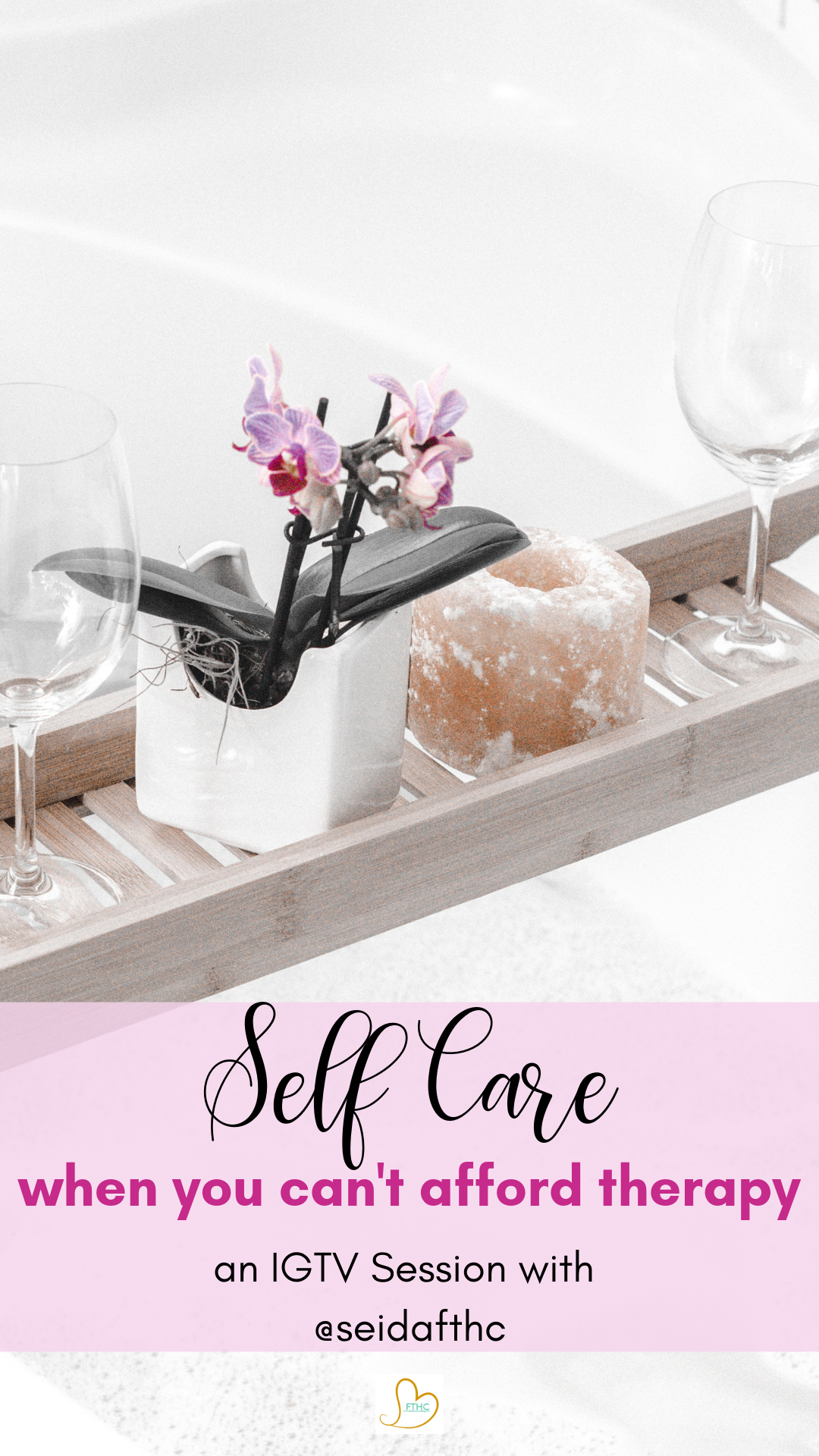 self care when you cant afford therapy