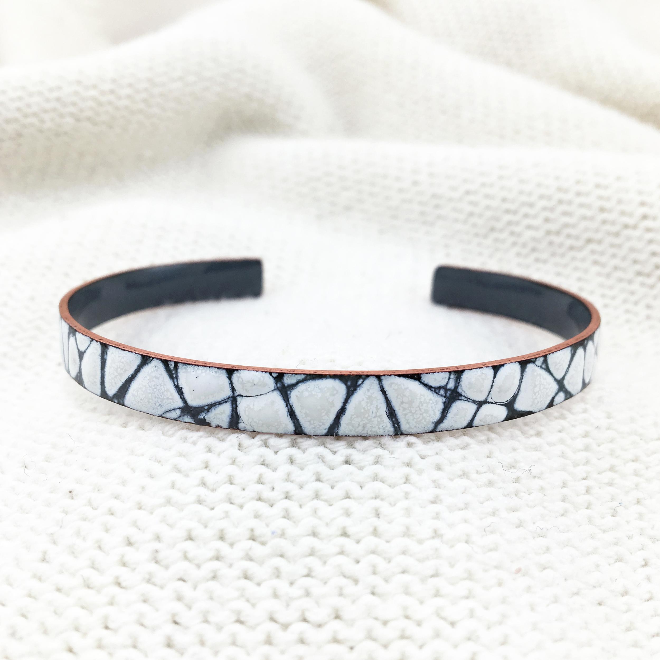 Slim CrissCross Bracelet ($70)