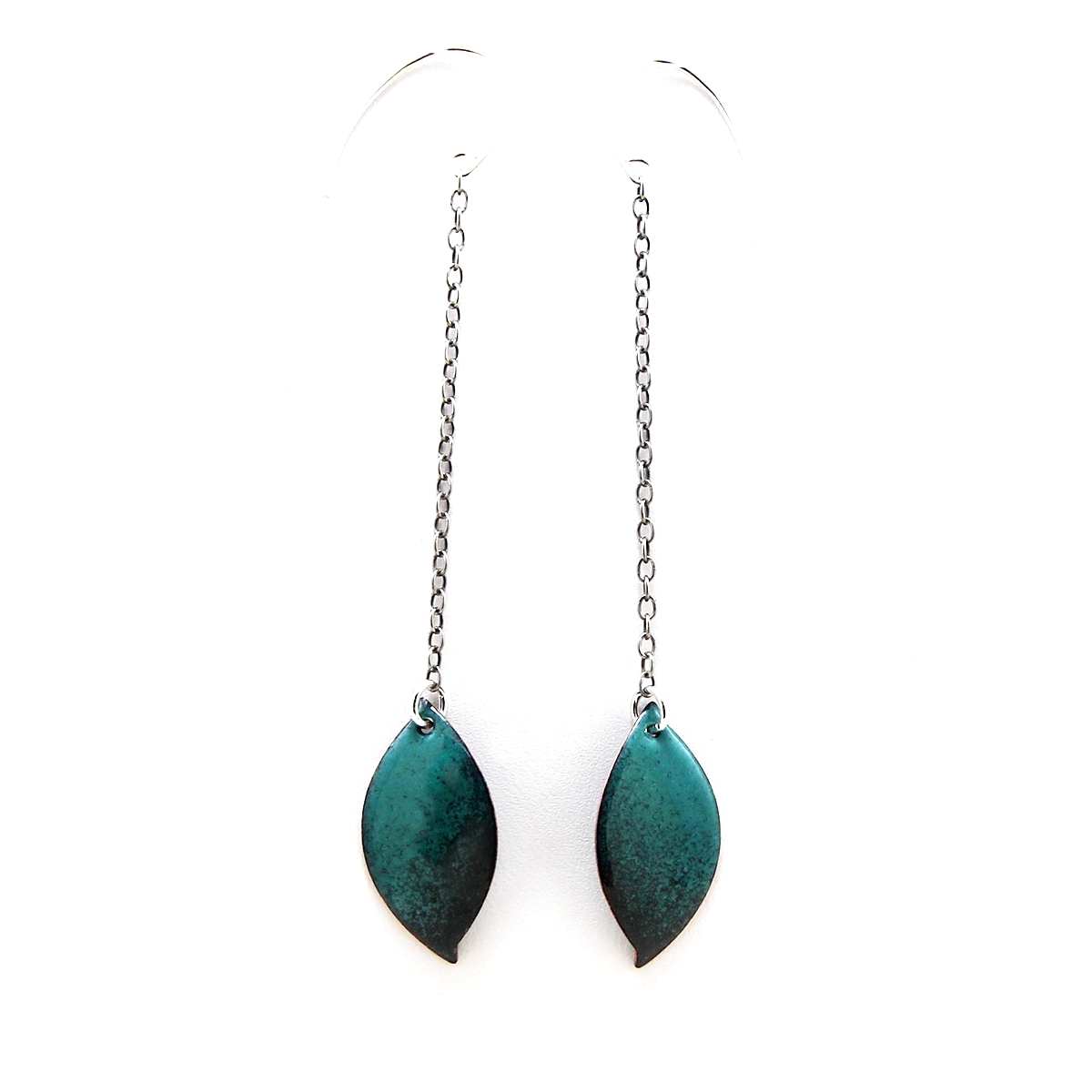 Drop Leaf Earrings ($50)