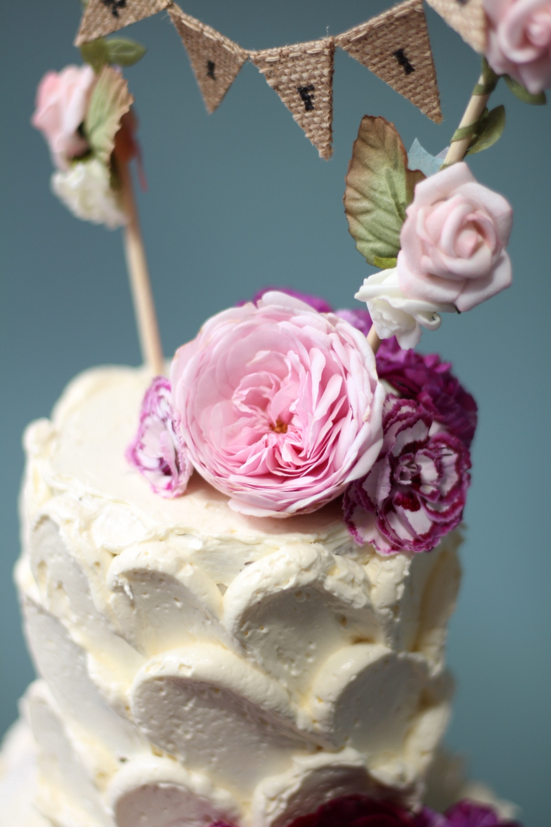 edible flowers close up