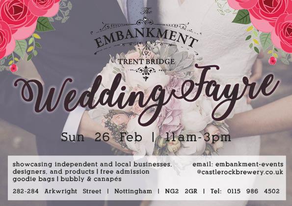 The Embankment Wedding Fayre Nottingham