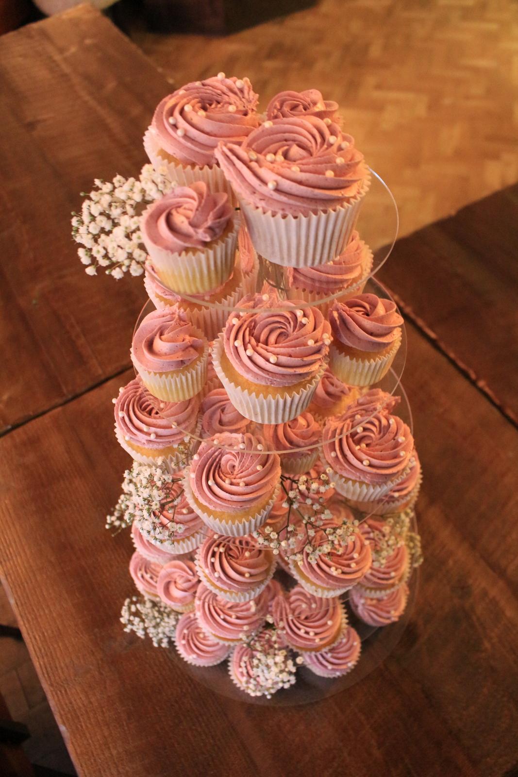 Cupcake tower | The Sweet Stuff, Nottingham