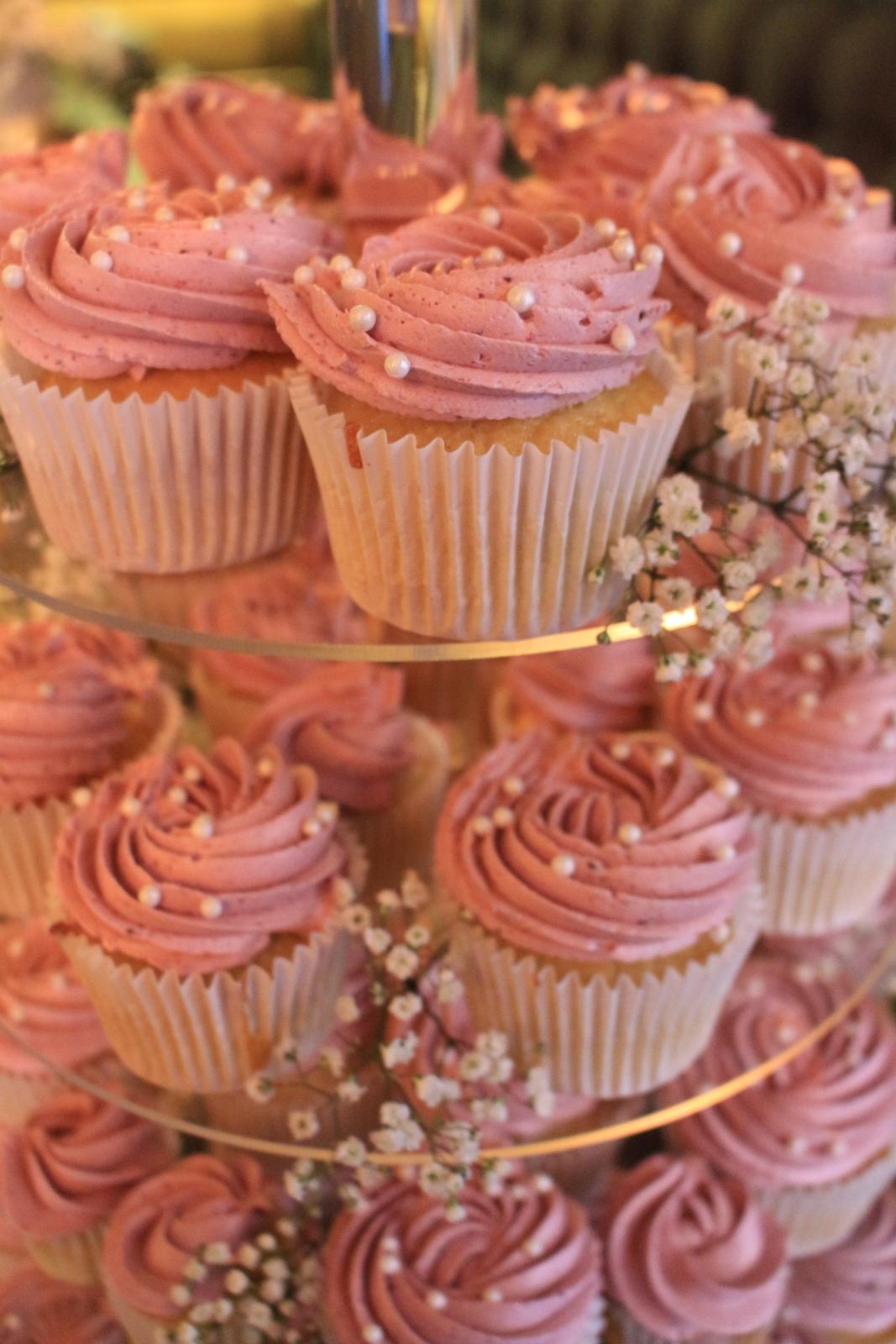 Wedding Cupcake Tower | The Sweet Stuff, Nottingham