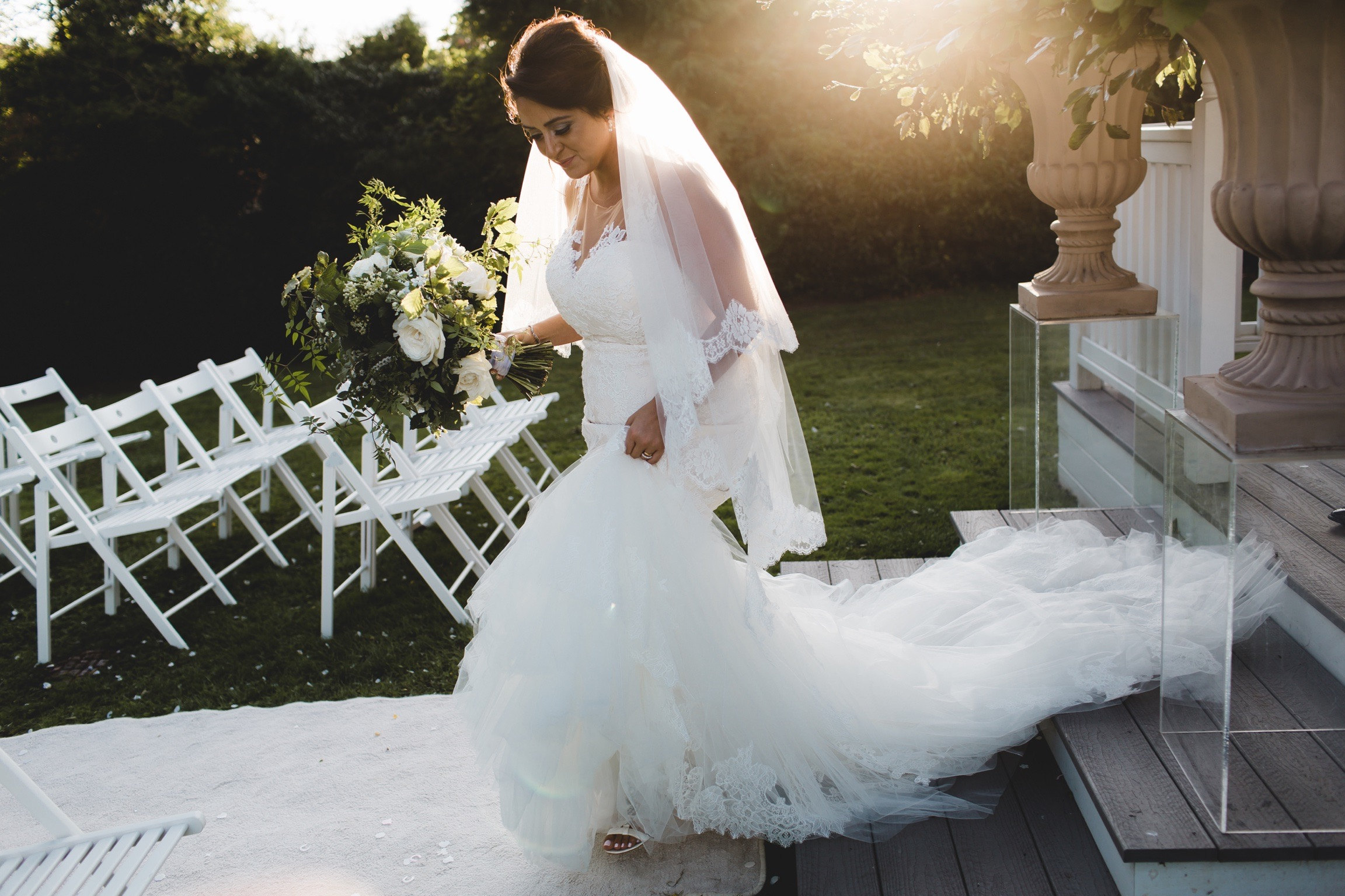 The Old Vicarage Boutique Weddings - outdoor chic