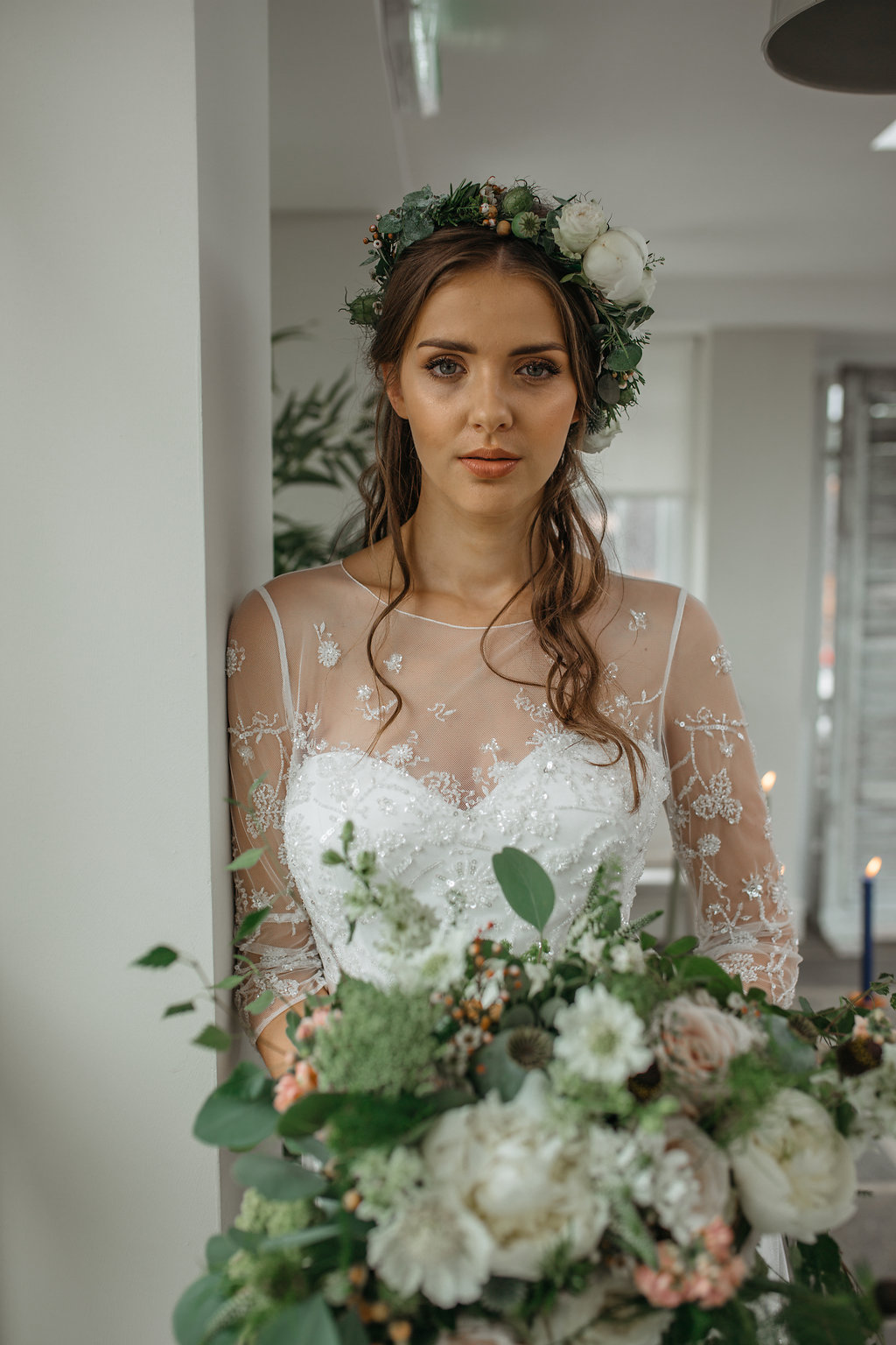 Boho botanical bride | The Sweet Stuff