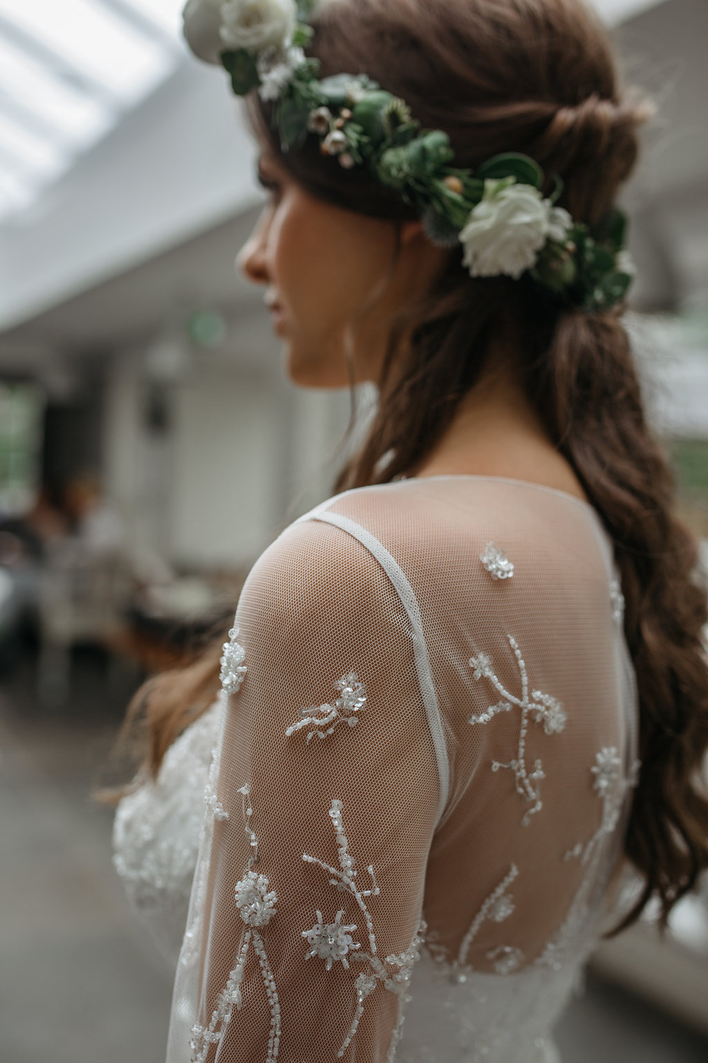 Boho botanical bride details | The Sweet Stuff
