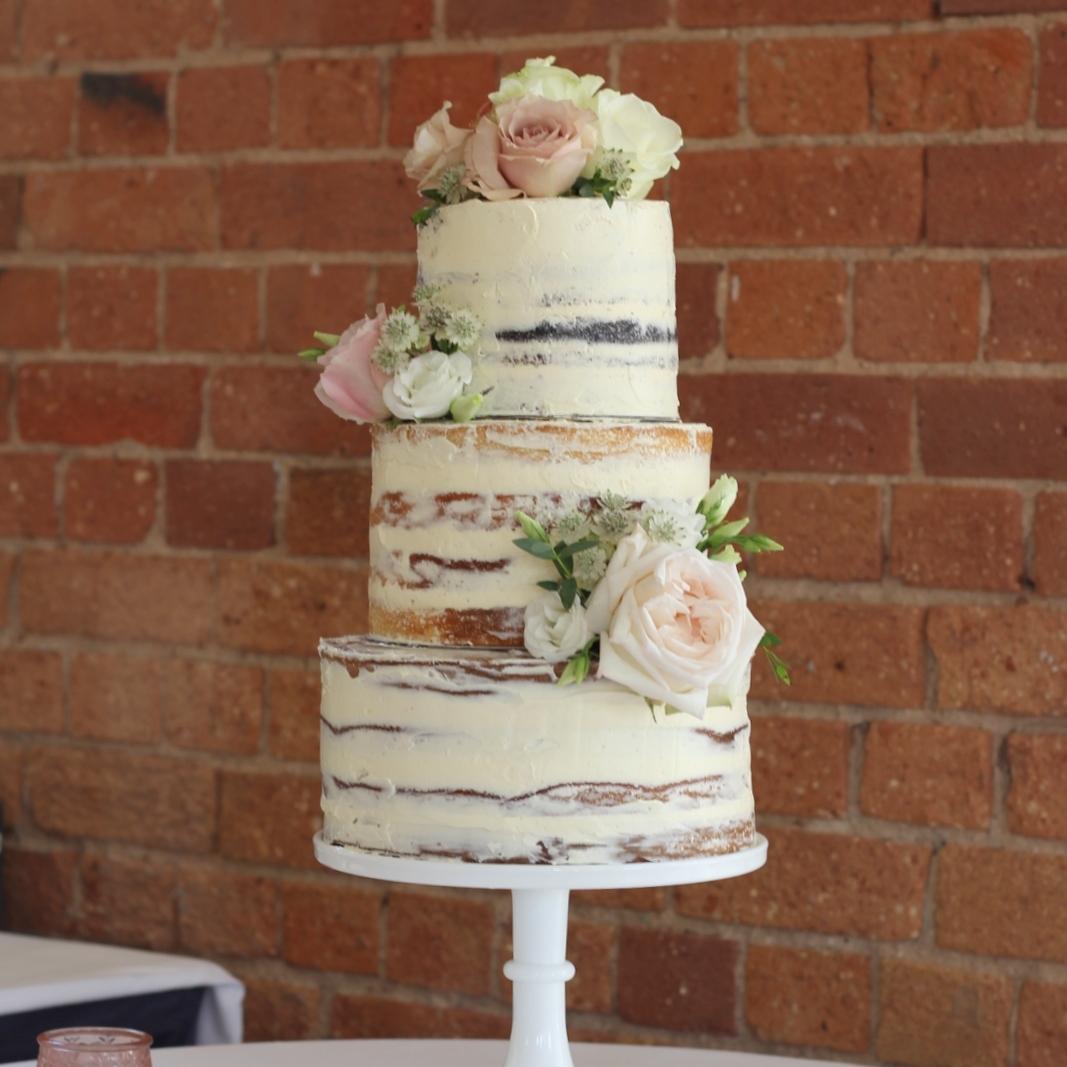 Semi naked cake | The Sweet Stuff