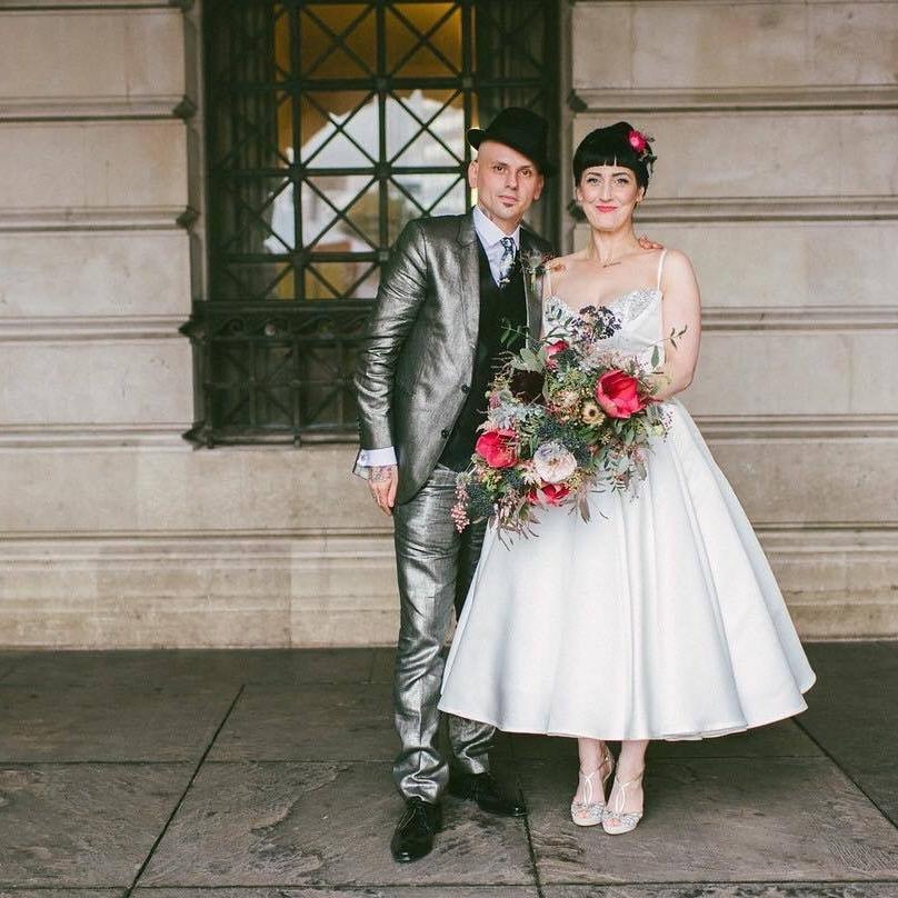 Floral Deco Wedding Flowers | Image: Ed Godden