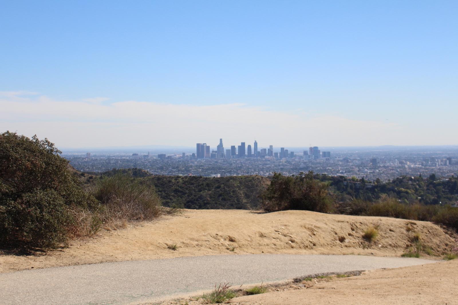 View of Downtown LA