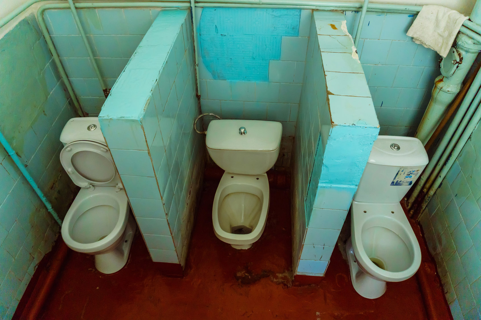 old toilets need replacing