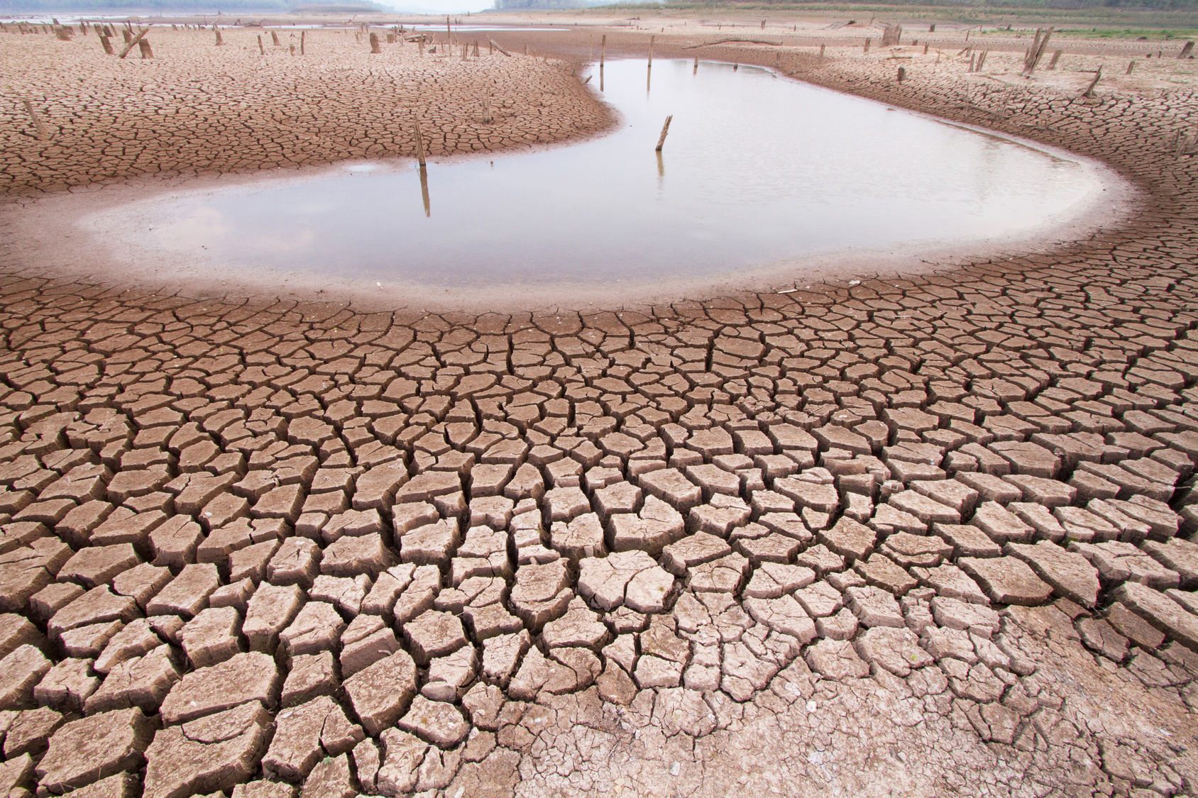 airidification, water shortage, drier climate
