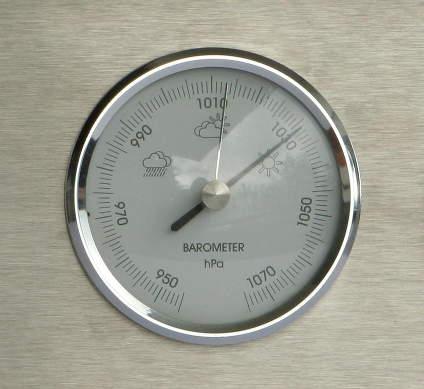 barometer, rain meter