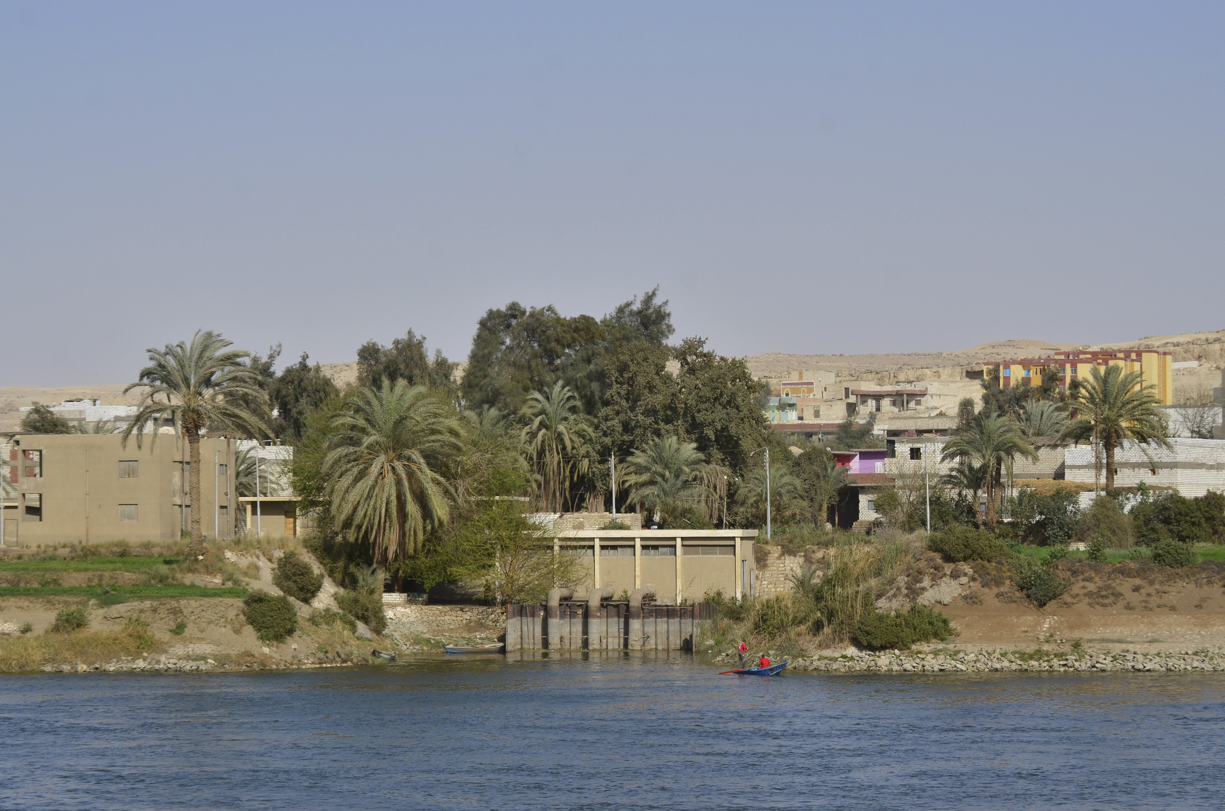 Egypt water supply, nile river